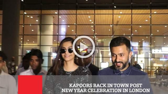 Kapoors Back In Town Post New Year Celebration In London