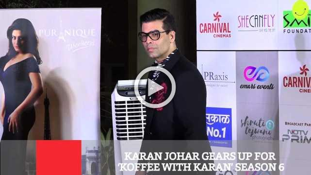 Karan Johar Gears Up For 'Koffee With Karan' Season 6