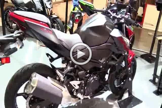 Kawasaki Z400 Walkaround AutoShow