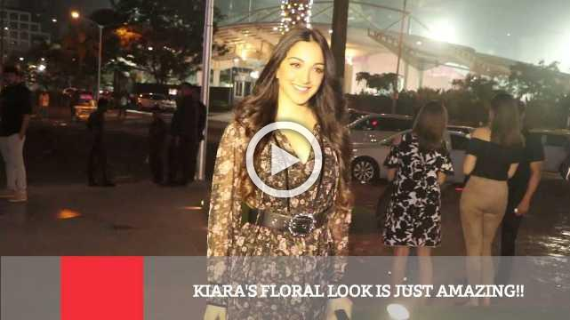 Kiara's Floral Look Is Just Amazing!!