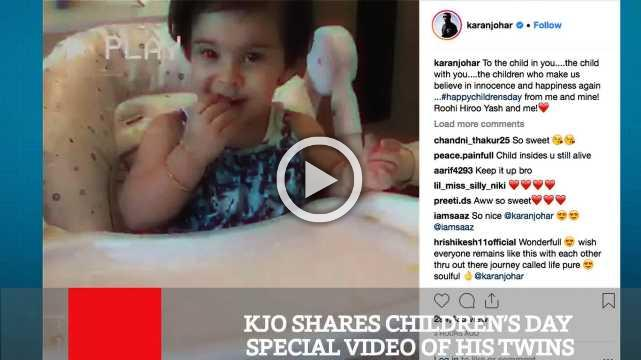 Kjo Shares Children's Day Special Video Of His Twins