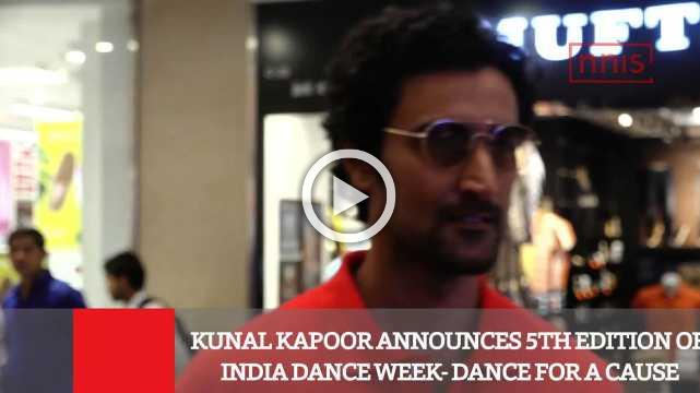 Kunal Kapoor Announces 5Th Edition Of India Dance Week  Dance For A Cause