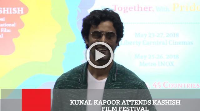 Kunal Kapoor Attends Kashish Film Festival
