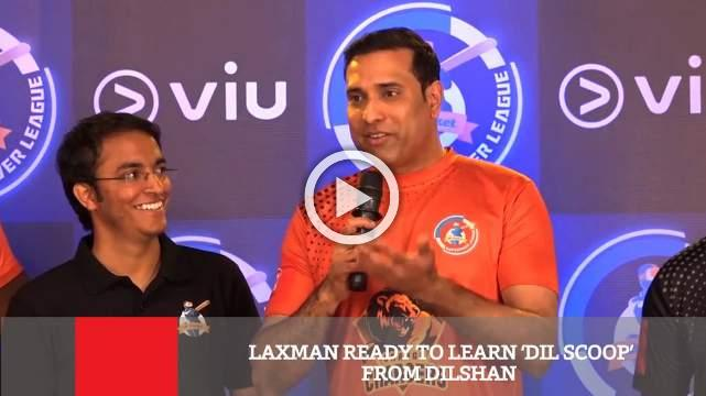 Laxman Ready To Learn 'Dil Scoop' From Dilshan