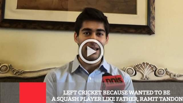 Left Cricket Because Wanted To Be A Squash Player Like Father, Ramit Tandon