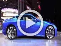 Lexus LC500 Structural Exterior Walkaround