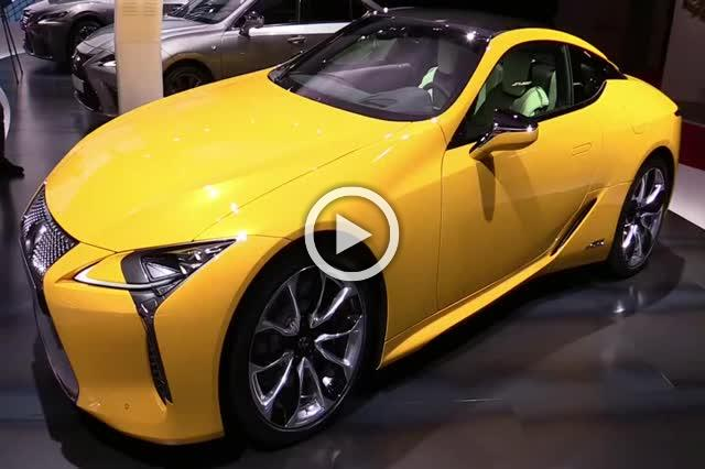 Lexus LC500h Exterior and Interior Walkaround Part I