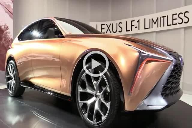Lexus LF-1 Limitless Concept Exterior and Interior Walkaround Part III