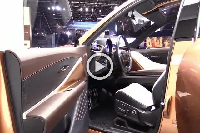 Lexus LF-1 Limitless Concept Exterior and Interior Walkaround Part II