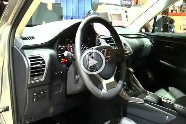 Lexus NX300h Exterior and Interior Walkaround Part II