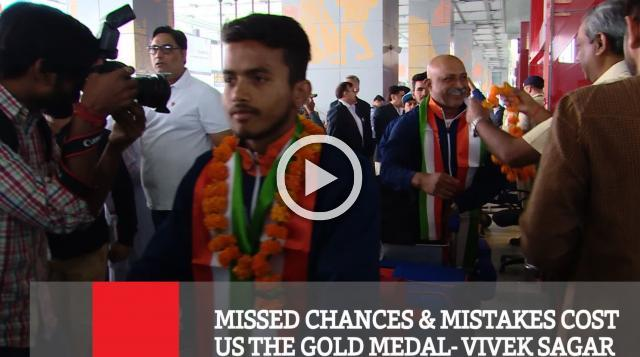 Missed Chances & Mistakes Cost Us The Gold Medal- Vivek Sagar