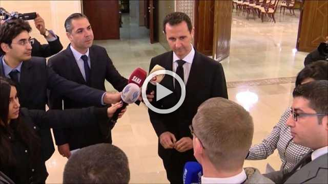 Assad receives Russian economic and governmental delegation