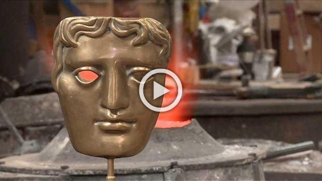 How Bafta's award statuettes are made