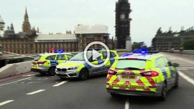 UK police on scene of suspected terror incident near parliament