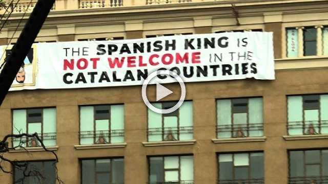 Catalan rift creeps into Spain's homage to attack victims