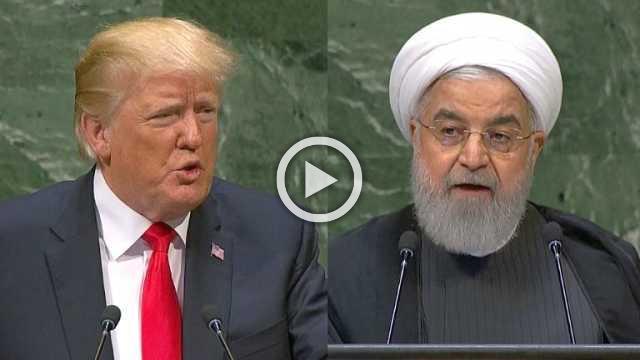 Rouhani says Trump seeking Iran leadership 'overthrow'