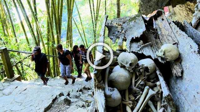 Journey to the afterlife: Indonesia's Toraja live among the dead