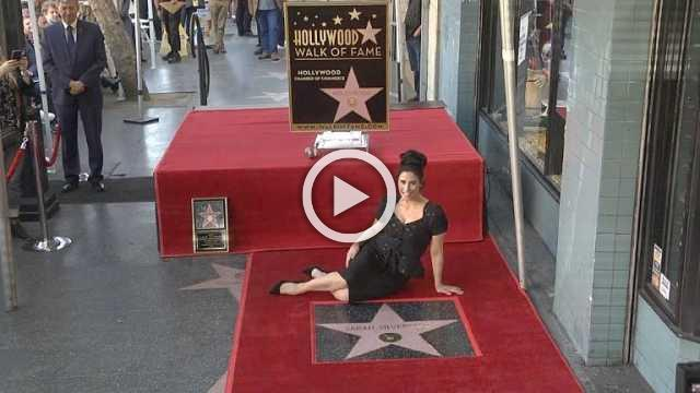 Sarah Silverman receives Hollywood Walk of Fame star