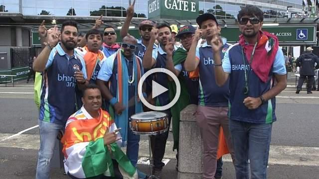 India fans celebrate historic Test series win