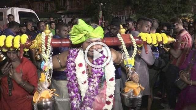 Hindus mark Thaipusam festival in Malaysia