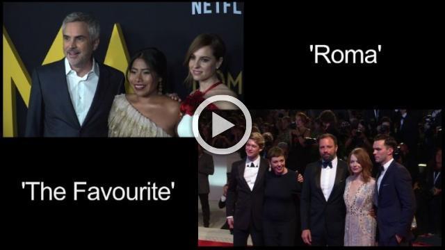 'Roma,' 'The Favourite' lead Oscar nods with 10 each