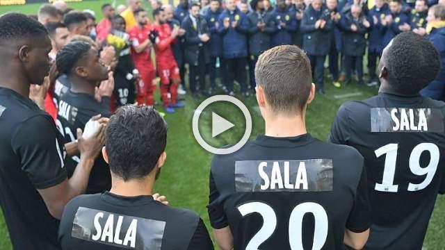 Moving Sala homage as emotional Nantes crumble