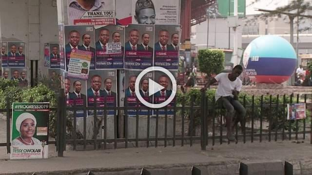 Nigerians tell of hopes for future ahead of election