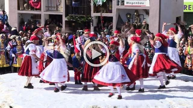 Austria bids farewell to winter with traditional carnival