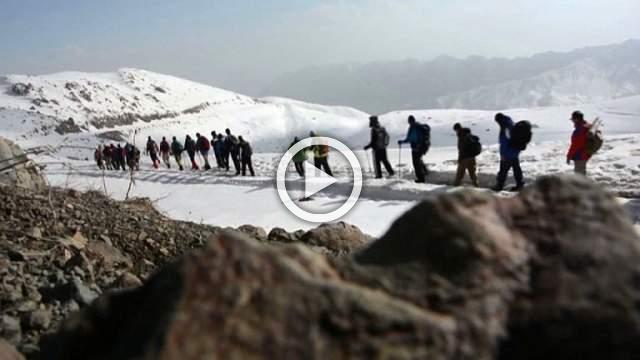 In Iraqi Kurdistan, hikers and skiers are at play