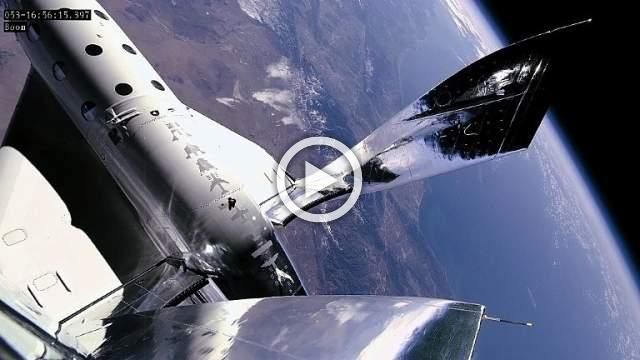 Virgin Galactic takes crew of three to altitude of 55 miles
