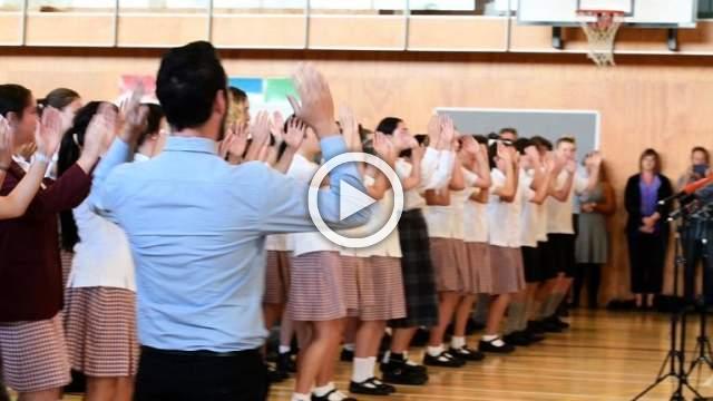 PM Ardern visits Christchurch school as first funerals begin