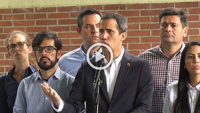 Venezuela's Guaido denounces