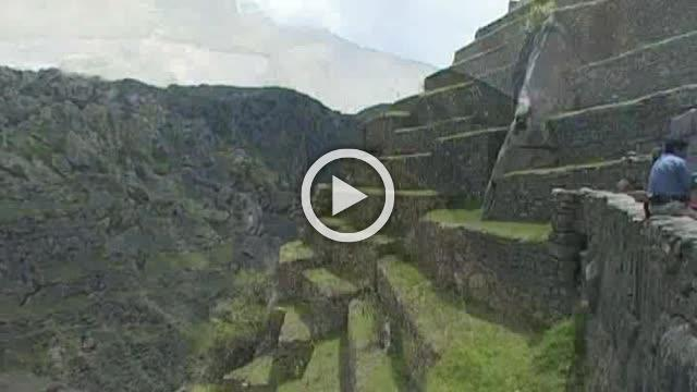 Machu Picchu is one of the most popular iconic sites in the world Part III