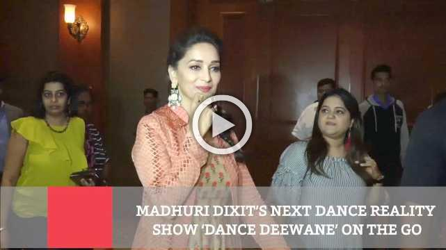 Madhuri Dixit's Next Dance Reality Show 'Dance Deewane' On The Go