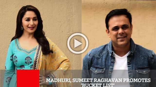 Madhuri, Sumeet Raghavan Promotes 'Bucket List'