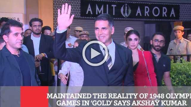 Maintained The Reality Of 1948 Olympic Games In 'Gold' Says Akshay Kumar
