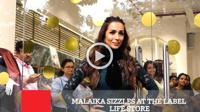 Malaika Sizzles At The Label Life Store