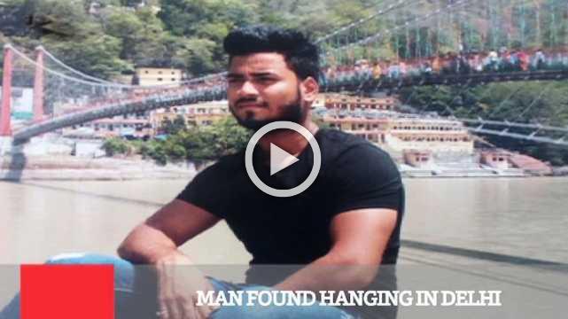 Man Found Hanging In Delhi