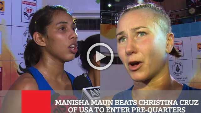 Manisha Maun Beats Christina Cruz Of Usa To Enter Pre-Quarters