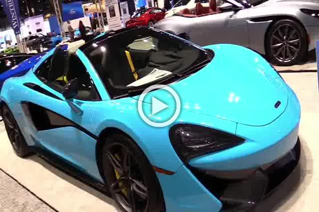 McLaren 570S Spider Walkaround Auto Show Part II