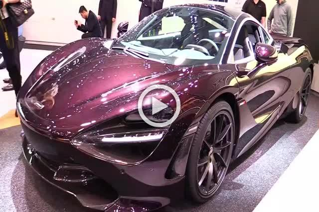 McLaren 720S Exterior and Interior Walkaround 2018 Part I