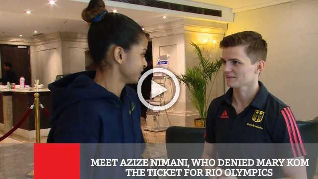 Meet Azize Nimani, Who Denied Mary Kom The Ticket For Rio Olympics