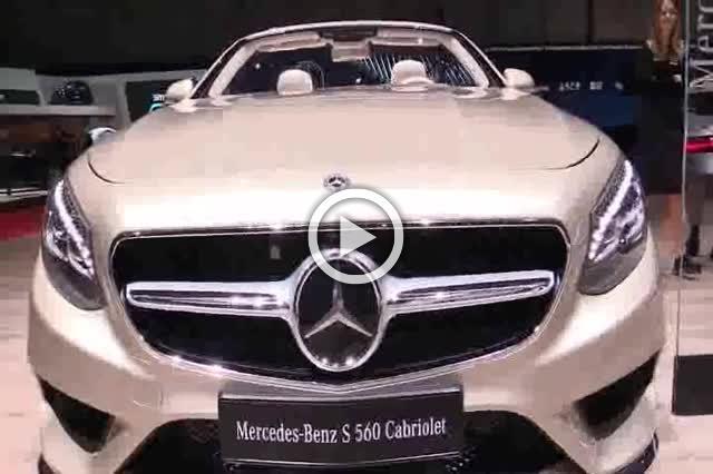Mercedes S560 Cabriolet Exterior and Interior Walkaround Part II