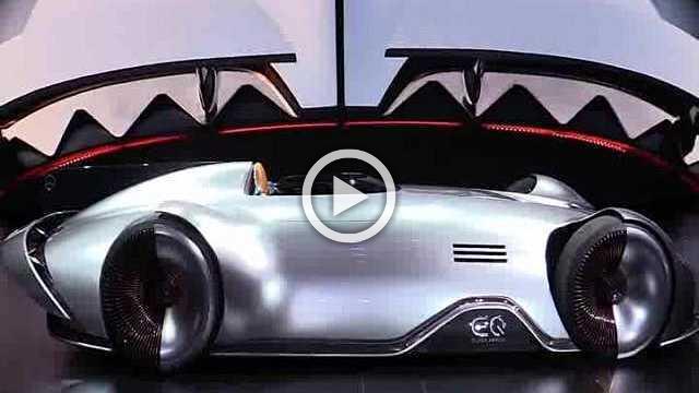 Mercedes Vision EQ Silver Arrow Concept Walkaround Part II