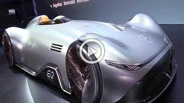 Mercedes Vision EQ Silver Arrow Concept Walkaround Part I