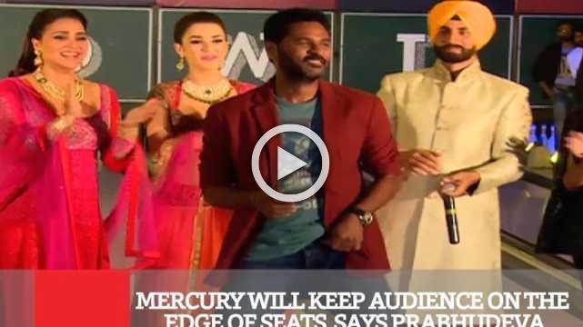 Mercury Will Keep Audience On The Edge Of Seats, Says Prabhudeva