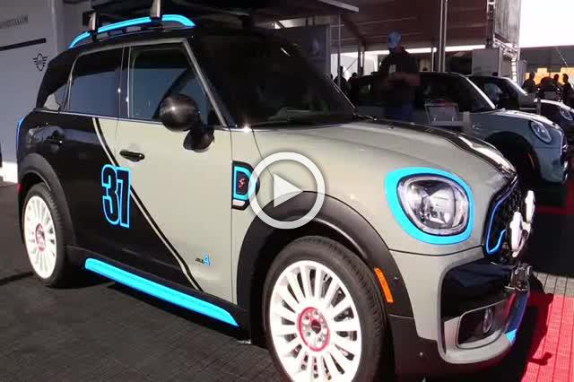 Mini Cooper S Countryman All4 Exterior and Interior Walkaround Part I