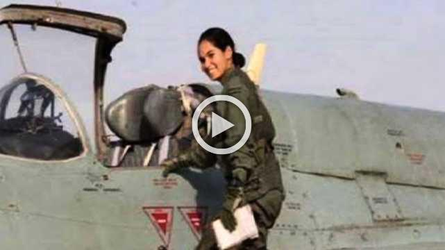 MP Girl Becomes India's First Girl To Fly A Fighter Plane