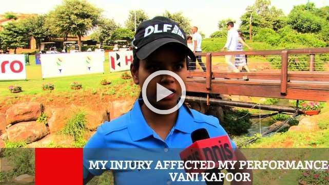 My Injury Affected My Performance- Vani Kapoor