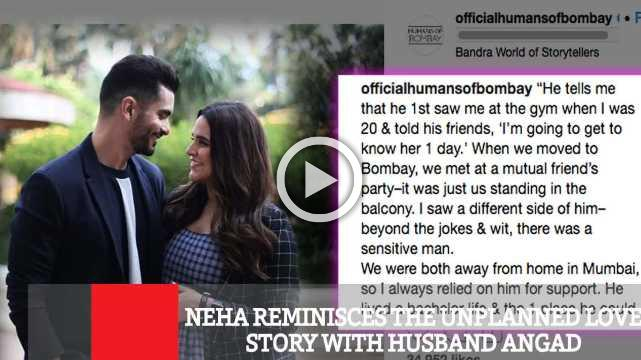 Neha Reminisces The Unplanned Love Story With Husband Angad